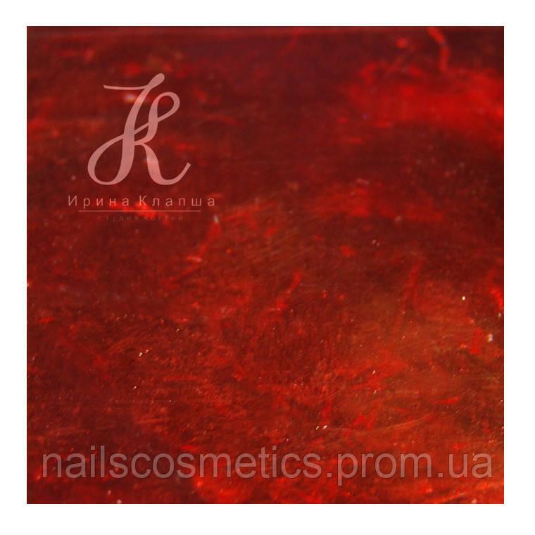 124 Красная фольга