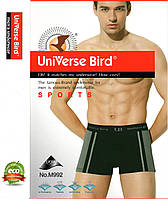 Трусы мужские боксеры х/б UB (Universe Bird) мужское белье ТМБ-492