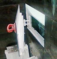 Потайной люк невидимка под плитку 500х1500 мм Красный