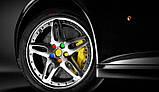 Защитные силиконовые колпачки на колесные гайки 17 мм красные, фото 6