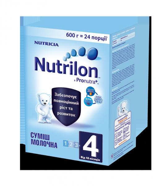 Сухая молочная смесь Nutrilon ( Нутрилон ) 4, 600 г