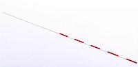 Антенна (1шт) для сетки волейбол C-3261 (стекловолокно, l-1,8м, d-10мм, белый-красный)