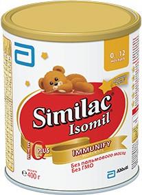 Similac Молочная смесь Изомил (Isomil), 400г