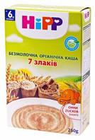 """Безмолочная органическая каша HiPP """"7 злаков"""", 200 г"""