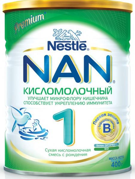 Сухая детская молочная смесь NAN 1 Кисломолочный, 400 г