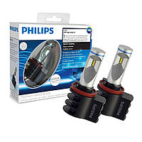 Светодиодные лампы Philips H8/H11/H16 X-treme Ultinon LED 6000K (12834UNIX2) (2pcs)