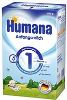 Сухая молочная смесь Humana 1 с пребиотиками, LC PUFA и нуклеотидами, 600 г