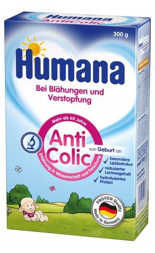 Сухая смесь Humana AntiColik c пребиотиками, 300 г