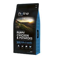 Profine Puppy Chicken and Potatoes корм для щенков с курицей и картофелем, 15кг