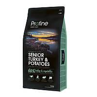 Profine Senior Turkey and Potatoes корм для стареющих собак с индейкой и картофелем, 15кг