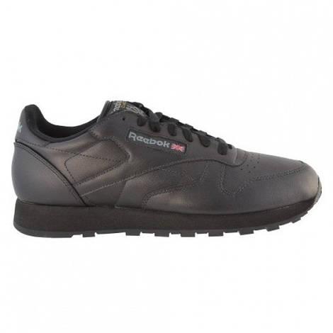 Мужские кроссовки  Reebok Classic Leather (Black)
