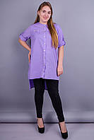 Лера. Рубашка женская. Пурпур., фото 1