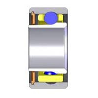 Подшипник SG 1329X-D.1   3,175 x 6,35 x 2,778  Радиально-упорный, Шарики: Керамика, Кольцо: Прямое, Бренд: Myonic