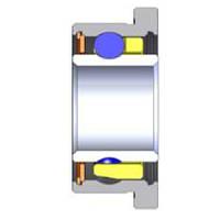 Подшипник SG 1301X-D.1v   3,175 x 6,35/7,518 x 2,778  Радиальный, Шарики: Керамика, Кольцо: Фланец, Бренд: Myonic