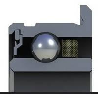 Подшипник OPTIMYN-418WIFU   3,175 x 6,35/7,518 x 2,778  Радиальный, Шарики: Металл, Кольцо: Фланец+Канавка, Бренд: Myonic