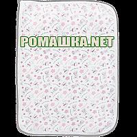 Детская непромокаемая многоразовая пеленка  50х70 см подлежит стирке 1797 Белый