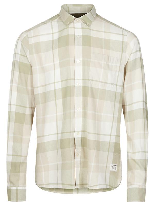 Мужская рубашка в клетку Hadin от Solid  в размере L