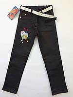 Детские джинсы-брюки на девочку 3-6 лет весна