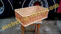 Лотки плетеные под хлеб h10-80х60