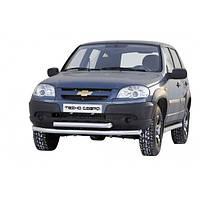 Кенгурятник (двойной ус) для Niva Chevrolet 2006