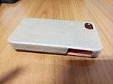Чехол-флип Apple iPhone 4 4s коричневый замшевый Viva, фото 8