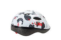 Шлем детский Green Cycle KITTY размер 50-54см белый