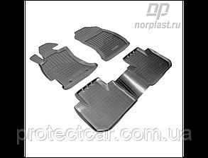 Коврики в салон Subaru Forester (c 2013) черные