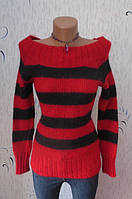 Модный Пушистый Свитер с Опущенными Плечами от Joelle Размер: 44, S-M