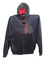 Костюм мужской спортивный с капюшоном полу батал (деми)