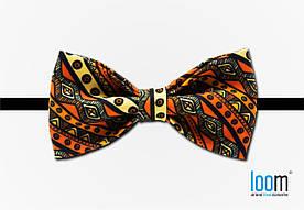 Бабочка \ Краватка \ Метелик Loom - Native Orange