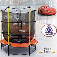 Injusa Батут с защитной сеткой Cars 1,4м