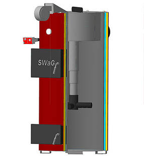 SWaG 25D котёл под древесное топливо мощностью 25 кВт, фото 2