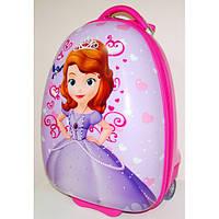 Детский чемодан на колесах София 47*31*25,5 см