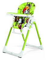 Стульчик для кормления «Peg-Perego» Prima Pappa Zero3 TUC24 цвет: зеленый с рисунком (IMPP030004TUC2