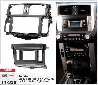 Рамка переходная Carav 11-339 Toyota Land Cruiser Prado (150) 09-13 with 4.2 disp Right wheel 2DIN