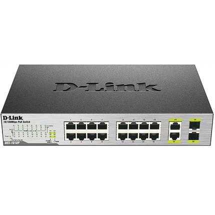 Коммутатор сетевой D-Link DES-1018P, фото 2
