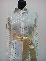 Нарядная молодёжная женская блузка.