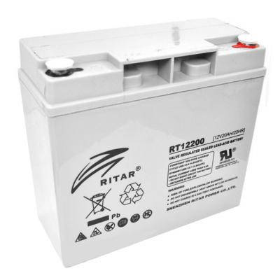 Батарея к ИБП Ritar AGM RT12200, 12V-20Ah (RT12200), фото 2