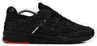 Мужские кроссовки Asics Gel Lyte V Black (Асикс Гель Лайт 5) джинсовые черные