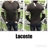 Свитер мужской Lacoste коричневый