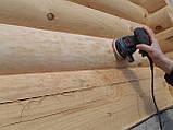 Покраска деревянного дома, сруба, фото 7