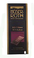 Шоколад  MOSER ROTH Edel Bitter 85% cacao, 125 Г (черный)