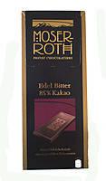 Шоколад  MOSER ROTH Edel Bitter 85% cacao, 125 Г (черный) , фото 1