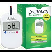Глюкометр Ван Тач Селект Сімпл (Опе Touch Select Simple)
