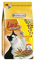 Корм Lara Poultry (Лара) для активных кошек с курицей, 10 кг