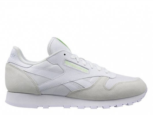 "Мужские кроссовки  Reebok Classic Leather ""Glow in the Dark"""