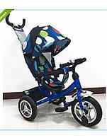 Детский трехколёсный велосипед Turbo Trike с надувными колёсами M 3113-5A-D