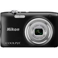 Цифровой фотоаппарат Nikon Coolpix A100 Black (VNA971E1)