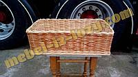 Корзины плетеные для овощных и хлебных стеллажей 65х45 с высотой борта 20 см