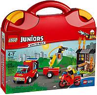 Lego Juniors лего Чемоданчик Пожарная команда 10740